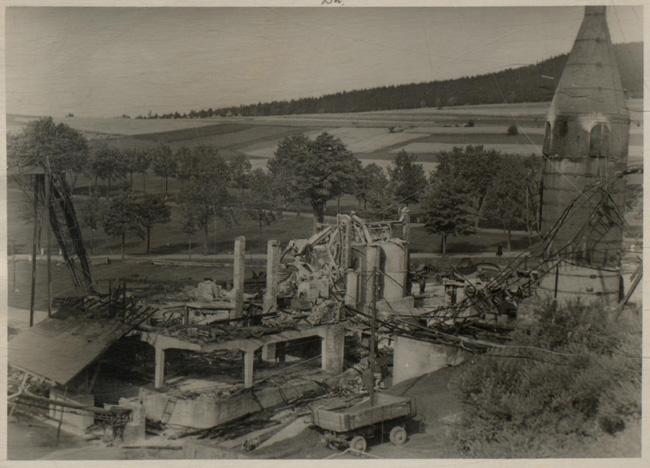 Historisches: Kalksteinabbau am Scheibenberg